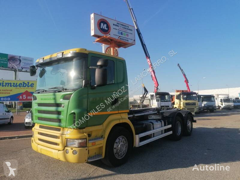 SCANIA 440 chassis truck